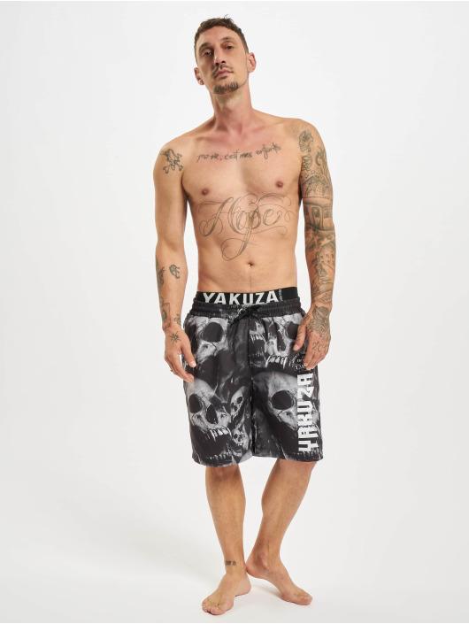 Yakuza Kúpacie šortky Muerte Skull Flex èierna