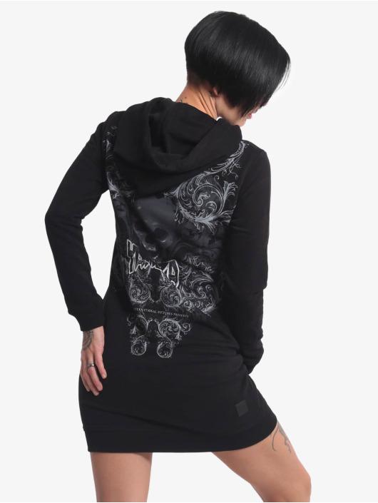 Yakuza Kleid Dark Tribe schwarz