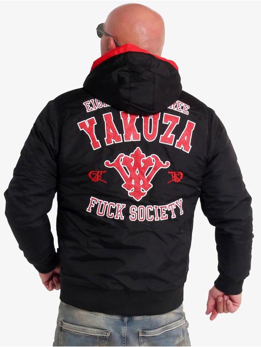 Yakuza Kurtki zimowe College Squad czarny