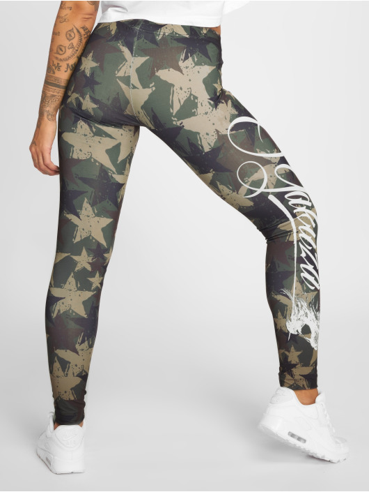 Yakuza Legging Stars camouflage