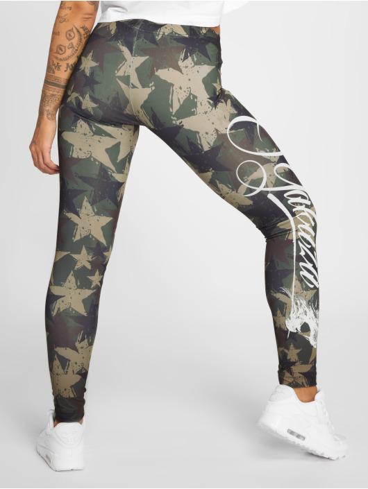 Yakuza Leggings Stars kamouflage