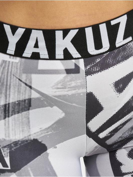Yakuza Leggings/Treggings Space bialy