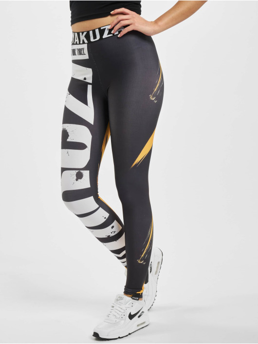 Yakuza Leggings/Treggings Fibre czarny