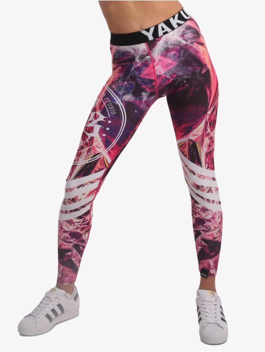 Yakuza Leggings/Treggings Golden Rush mangefarget