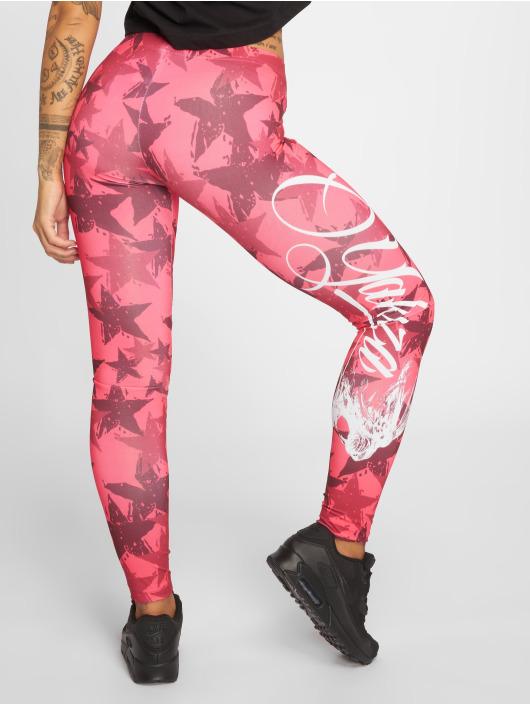 Yakuza Leggings/Treggings Stars pink