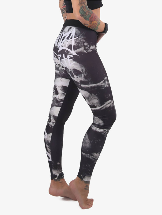 Yakuza Leggings/Treggings Muerte svart