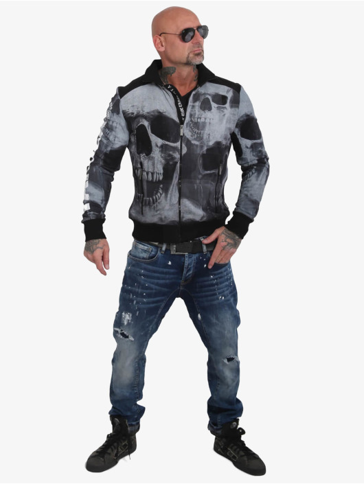 Yakuza Lightweight Jacket Muerte Skull black