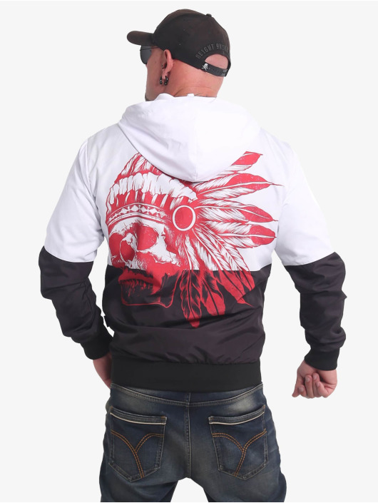 Yakuza Lightweight Jacket Indian Skull black