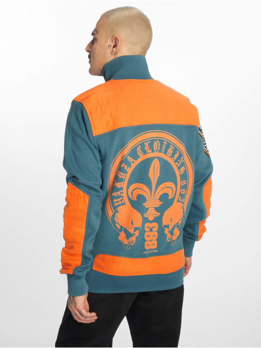 Yakuza Lightweight Jacket Lily Skull Two Face Training blue