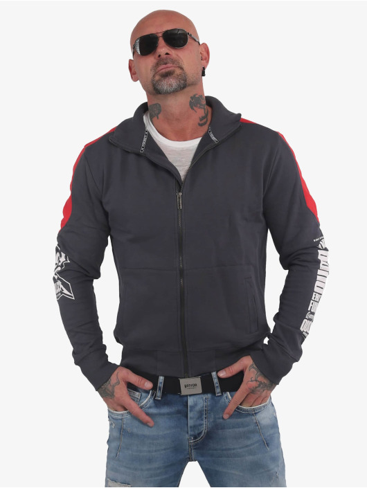 Yakuza Lightweight Jacket Memento Mori Two Face grey