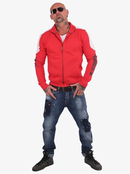 Yakuza Lightweight Jacket Memento Mori Two Face red