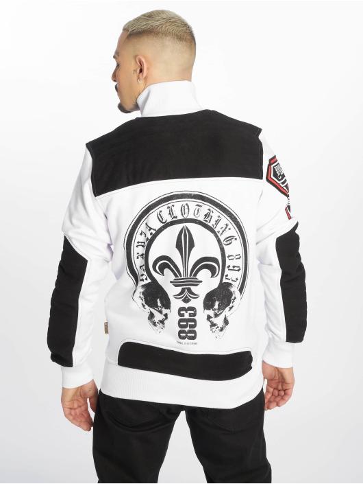 Yakuza Lightweight Jacket Lily Skull Two Face Training white