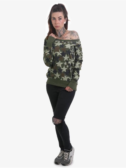 Yakuza Longsleeve Stars camouflage