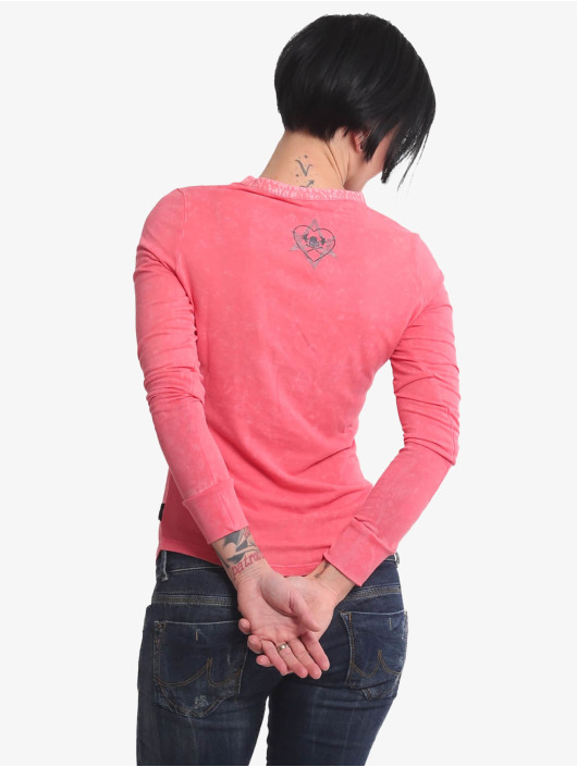Yakuza Longsleeve Rose Of 893 pink