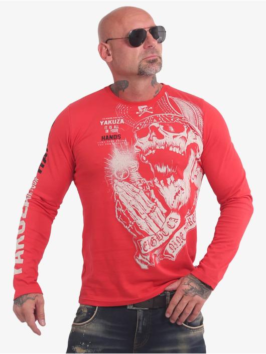 Yakuza Longsleeve Carnal red
