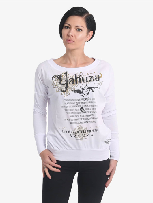 Yakuza Longsleeves Armed Angel bialy