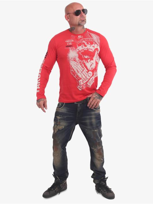 Yakuza Longsleeves Carnal czerwony