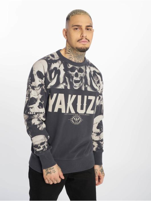 Yakuza Maglia Sick N Fxck grigio