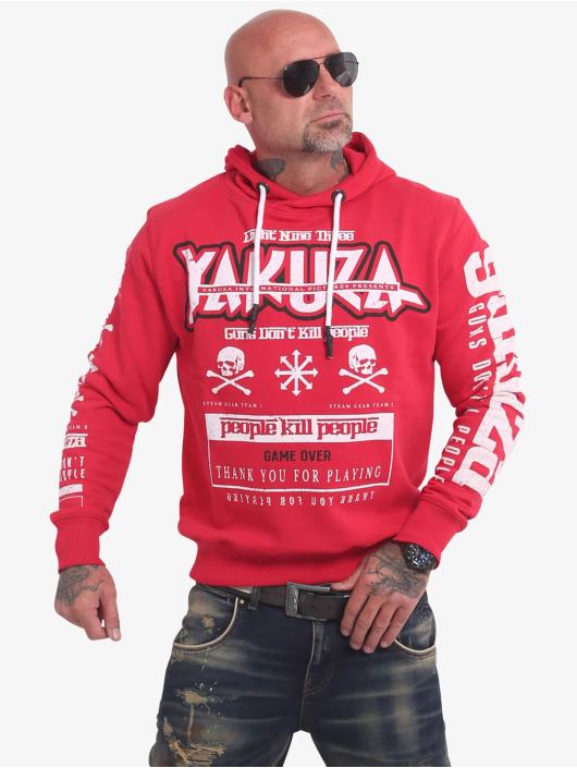 Yakuza Mikiny Guns Vs People èervená