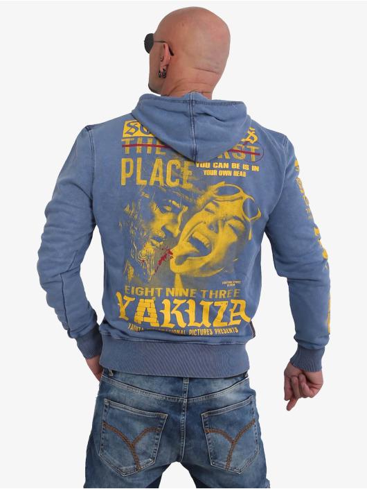 Yakuza Mikiny Sometimes modrá