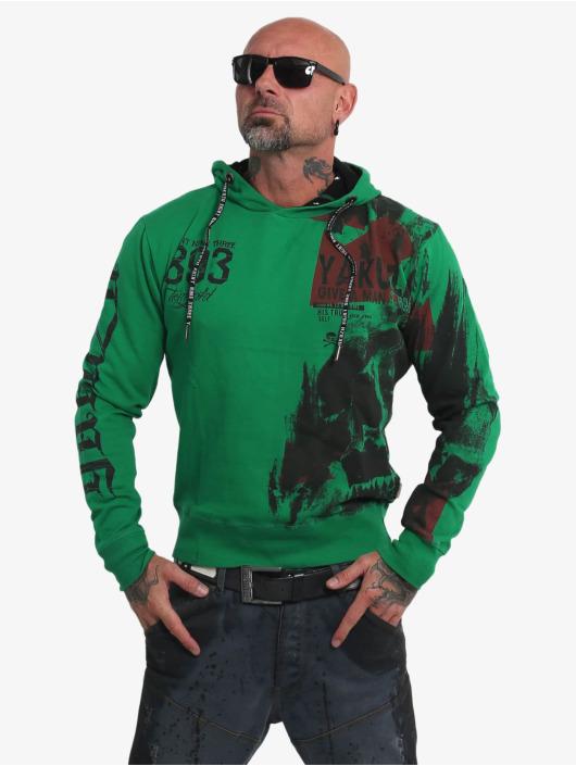 Yakuza Mikiny Mask N Man zelená
