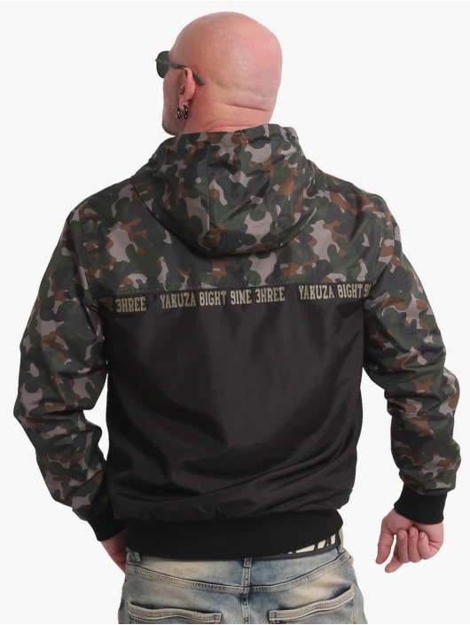 Yakuza Overgangsjakker Tactical Skull camouflage