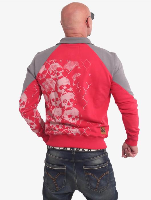 Yakuza Overgangsjakker Killing Fields Classic rød