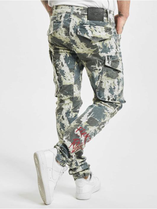 Yakuza Pantalon cargo Rules camouflage