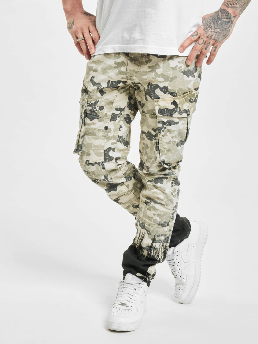 Yakuza Pantalon cargo Splatter camouflage
