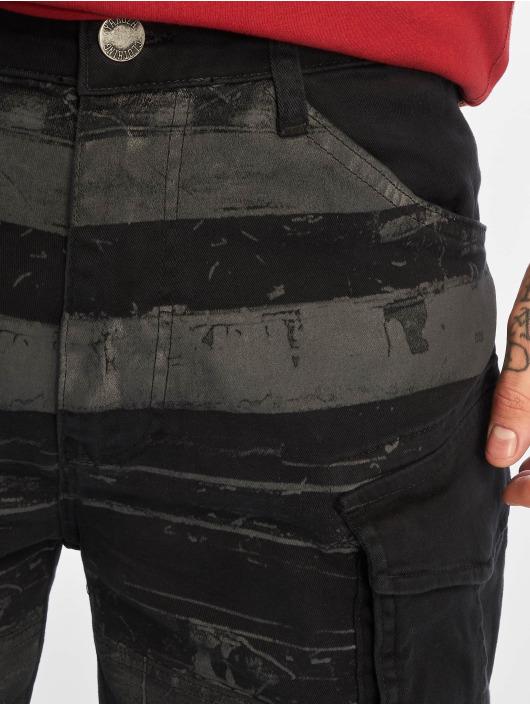 Yakuza Pantalón cortos Death Core negro