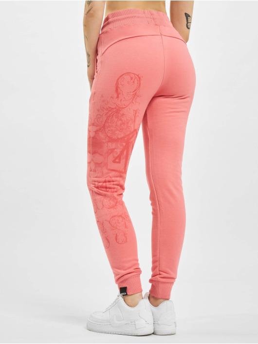 Yakuza Pantalón deportivo Dark Tribe rosa