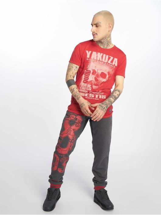 Yakuza Pantalone ginnico Badge grigio