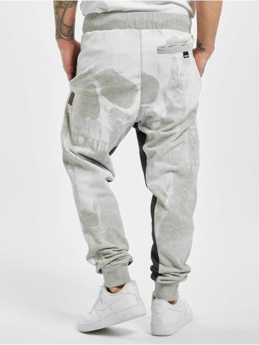Yakuza Pantalone ginnico Muerte Skull Sweat grigio