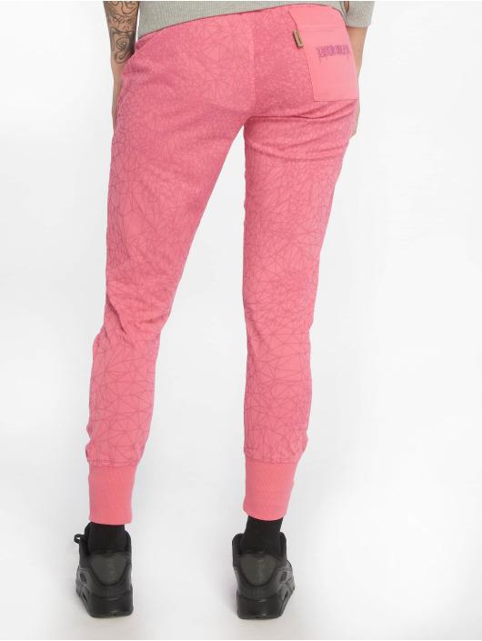 Yakuza Pantalone ginnico Daily Use Skinny rosa chiaro