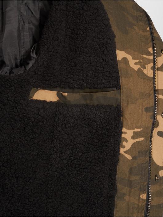 Yakuza Parka Flag Teddy Parka camouflage