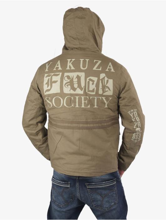 Yakuza Parka Fuck Society khaki
