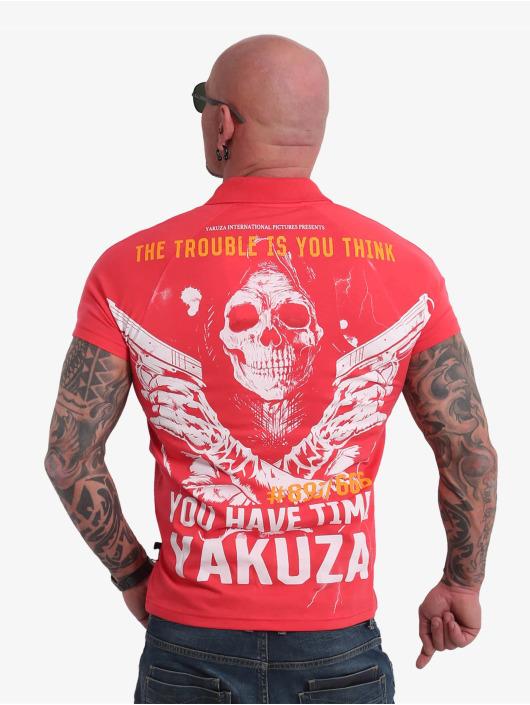 Yakuza Polo Trouble magenta