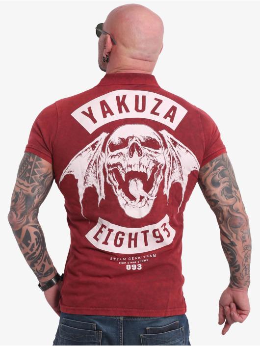 Yakuza Poloshirt 893MC Polo rot