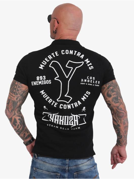 Yakuza Poloshirts Muerte Logo Pikee sort