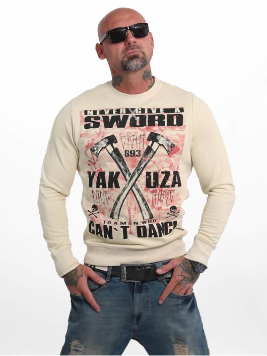Yakuza Pullover Sword beige