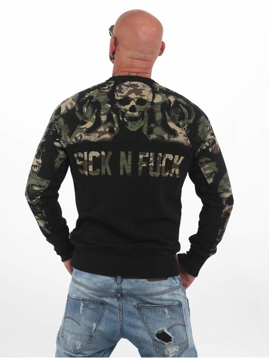 Yakuza Pullover Sick N Fxck camouflage