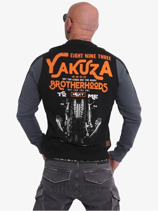 Yakuza Pullover Brotherhood schwarz