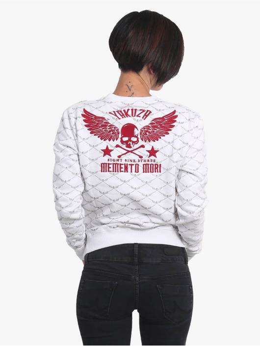 Yakuza Memento Mori Pouch Sweatshirt White