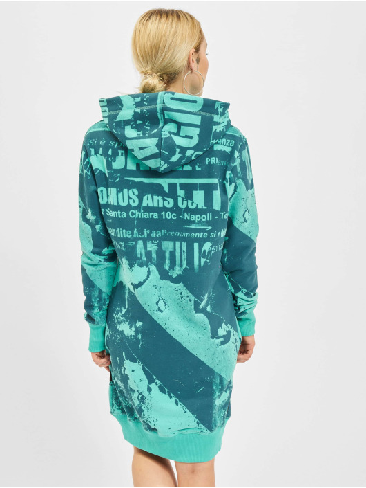 Yakuza Robe Grunge turquoise