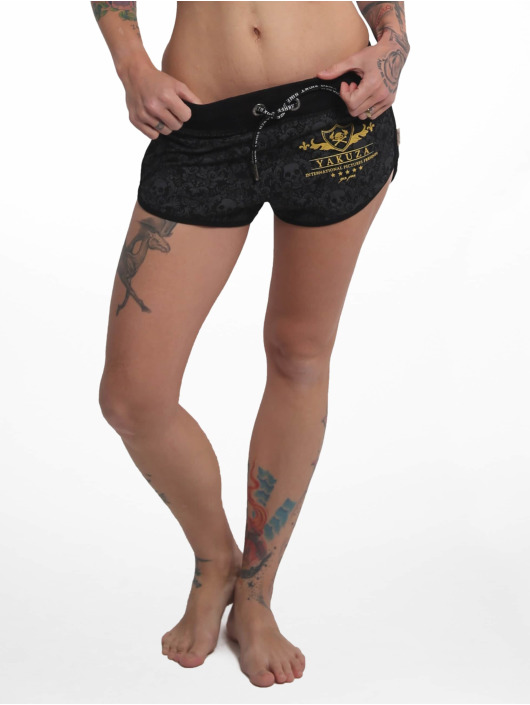 Yakuza Short Crests black