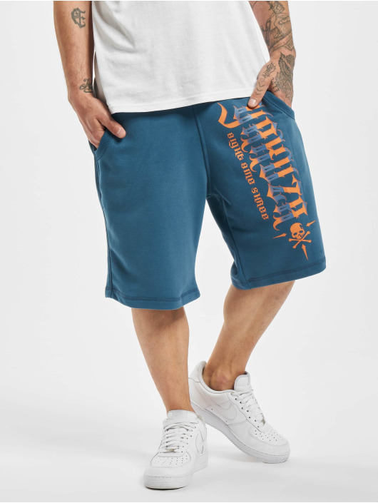 Yakuza Short Pointing bleu