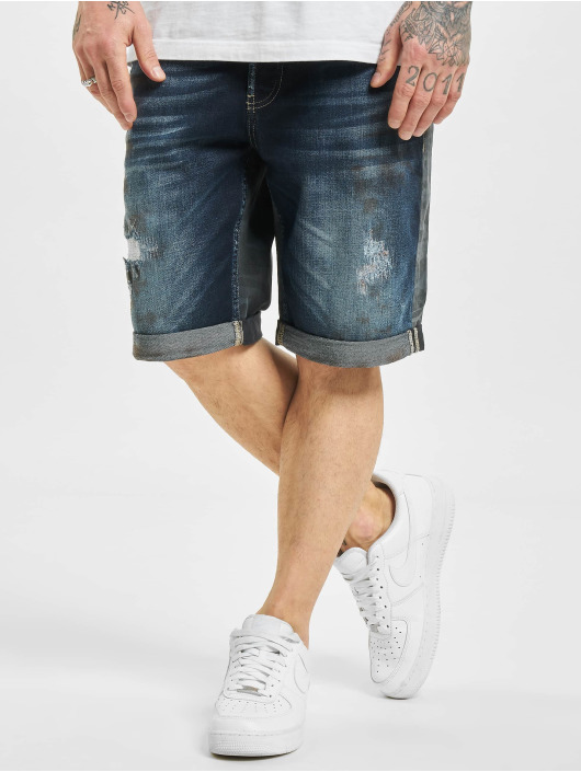 Yakuza Short Crusader Denim bleu