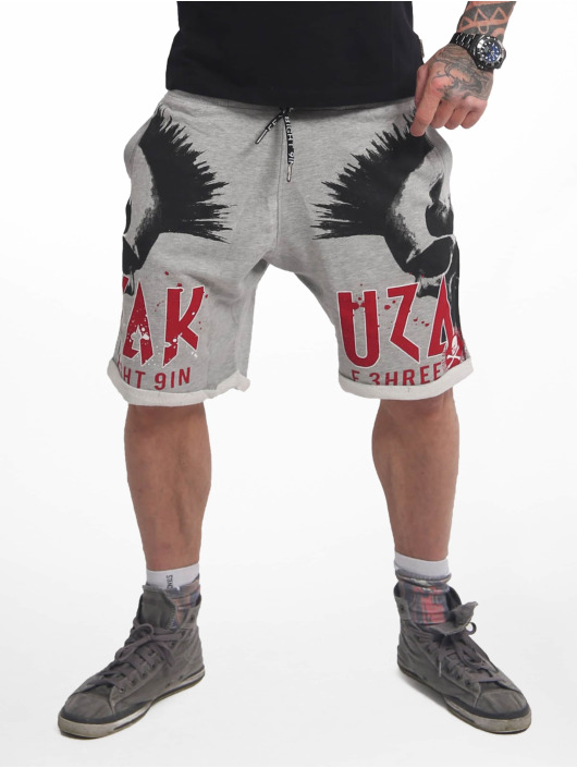 Yakuza Short Dead Punk Urban grey