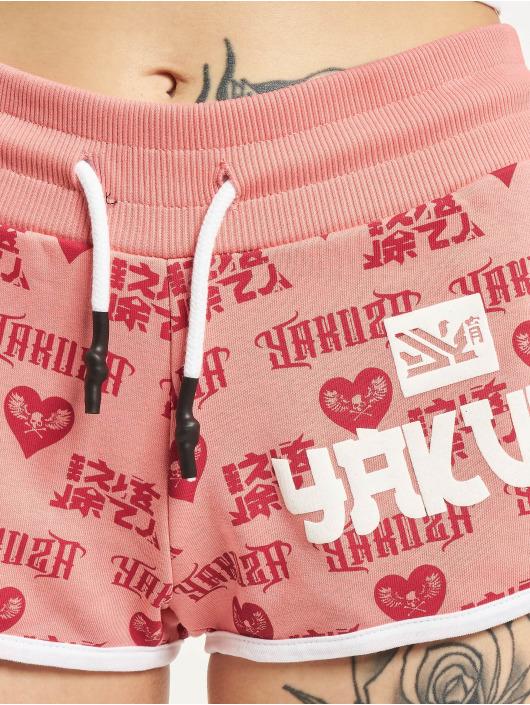 Yakuza Short Logo Love magenta