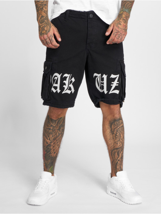 Yakuza Short Skull Label noir